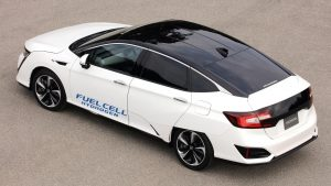 Honda Hydrogen Fuel Cell car